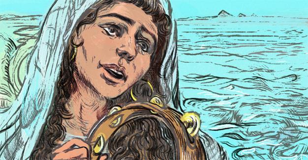 האָט מרים הנבֿיאה עובֿר געווען אויפֿן פּרינציפּ פֿון קול אישה?