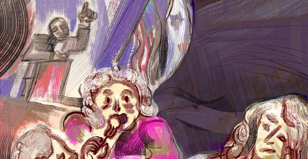 מע האָט פֿאַרזאַמלט הונדערטער געראַטעוועטע פֿון חורבן, נאָר קיינער האָט פֿאַר זיי נישט אָרגאַניזירט קיין פּראָגראַם מיט אַן אינטערעסאַנטן ייִדישן אינהאַלט.