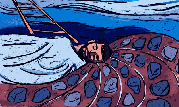הגם מיר וועלן מסתּמא נישט זען קיין הילמישע וועלטן פֿון מלאָכים, דאַרף מיר שטרעבן זיך אויפֿהייבן איבער דער ערד.