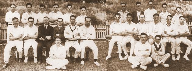 די צװײ ייִדישע קריקעט־מאַנשאַפֿטן אין 1925