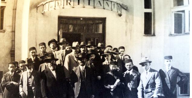 בעת אַן אַגודת־ישׂראל טור איבער פּוילישע שטעט און שטעטלעך, 1931