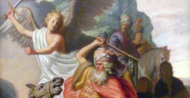 בלעם מיט זײַן אייזטלע – אַ בילד פֿון רעמבראַנדט, 1626