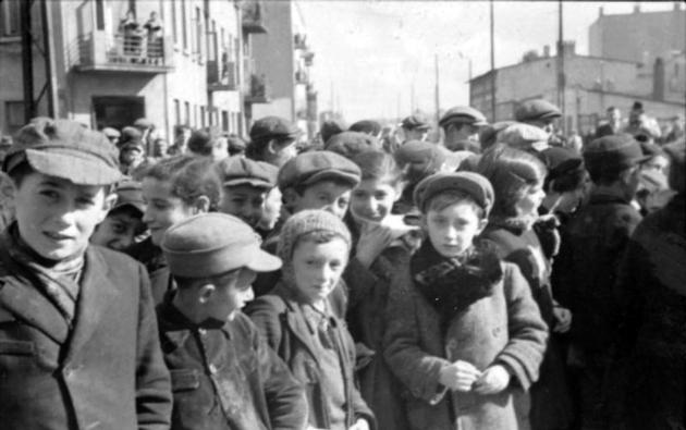 ייִדישע קינדער אין דער לאָדזשער געטאָ, 1940