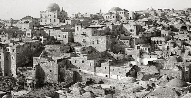 דער ייִדישער קוואַרטאַל פֿון ירושלים, אַרום 1918