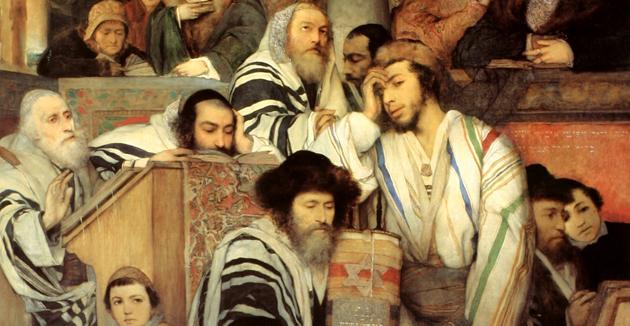 ייּדן פּראַווען יום־כּיפּור, מאָריץ גאָטליב, 1878