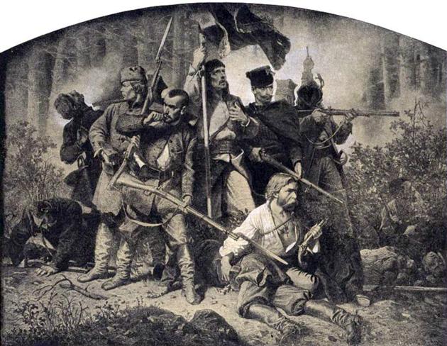 דער פּױלישער אױפֿשטאַנד פֿון 1863