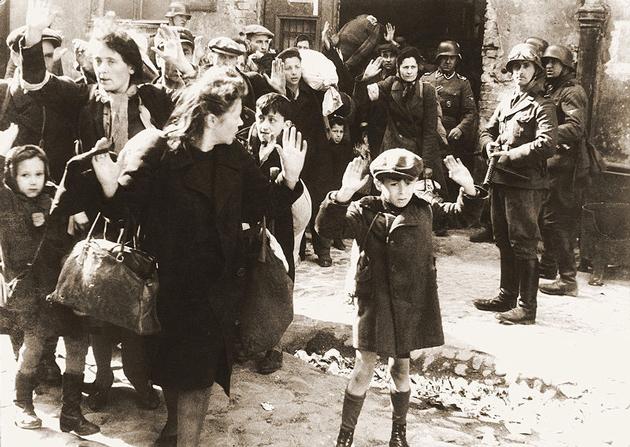 קינדער אין דער וואַרשעווער געטאָ, נאָכן דורכגעפֿאַלענעם אויפֿשטאַנד פֿון 1943