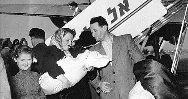 פּוילישע ייִדן קומען אָן אין ישׂראל, 1950ער יאָרן