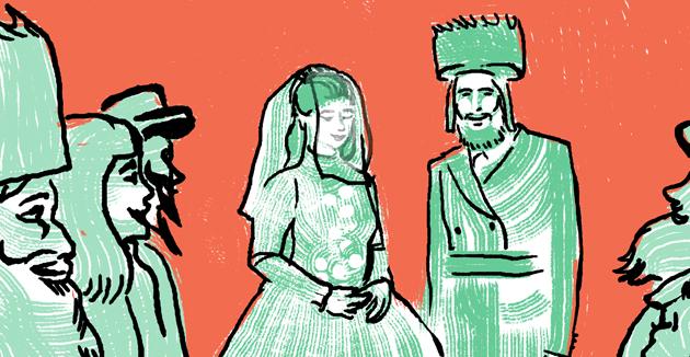 ווי גרייט מען צו אַ חסידישע חתונה?