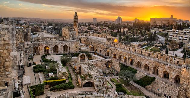 דרײַ־דימענסיאָנעלער ירושלים