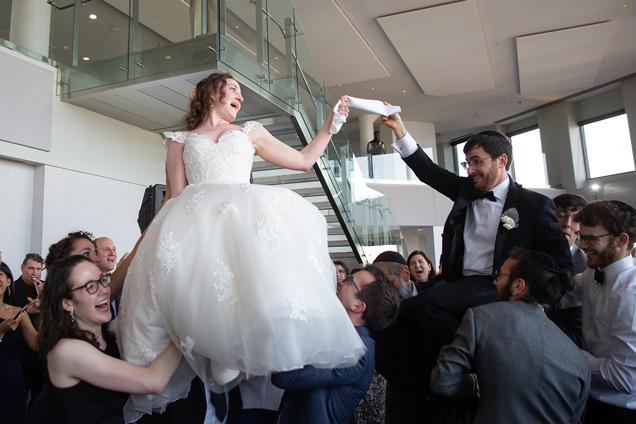 אַ ייִדישיסטישע חתונה צום געדענקען