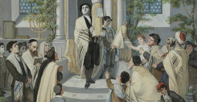 שבֿועות, ווען ייִדן האָבן זיך דערנענטערט צו דער נאַטור