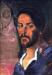 באַריס אַניספֿעלד, אויטאָ־פּאָרטרעט, 1910