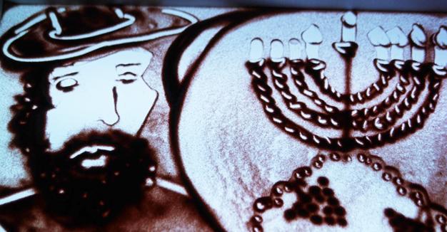 """די מאָסקווער קינדער־אַנימאַציע אויפֿן סמך פֿון יצחק באַשעוויסעס דערציילונג """"ערבֿ־חנוכּה אין וואַרשע"""""""